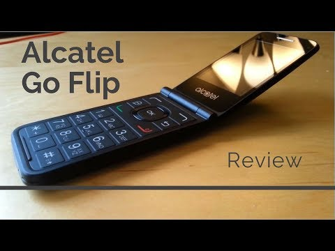 [review]-alcatel-go-flip---a-4g-flip-phone-in-2019-!