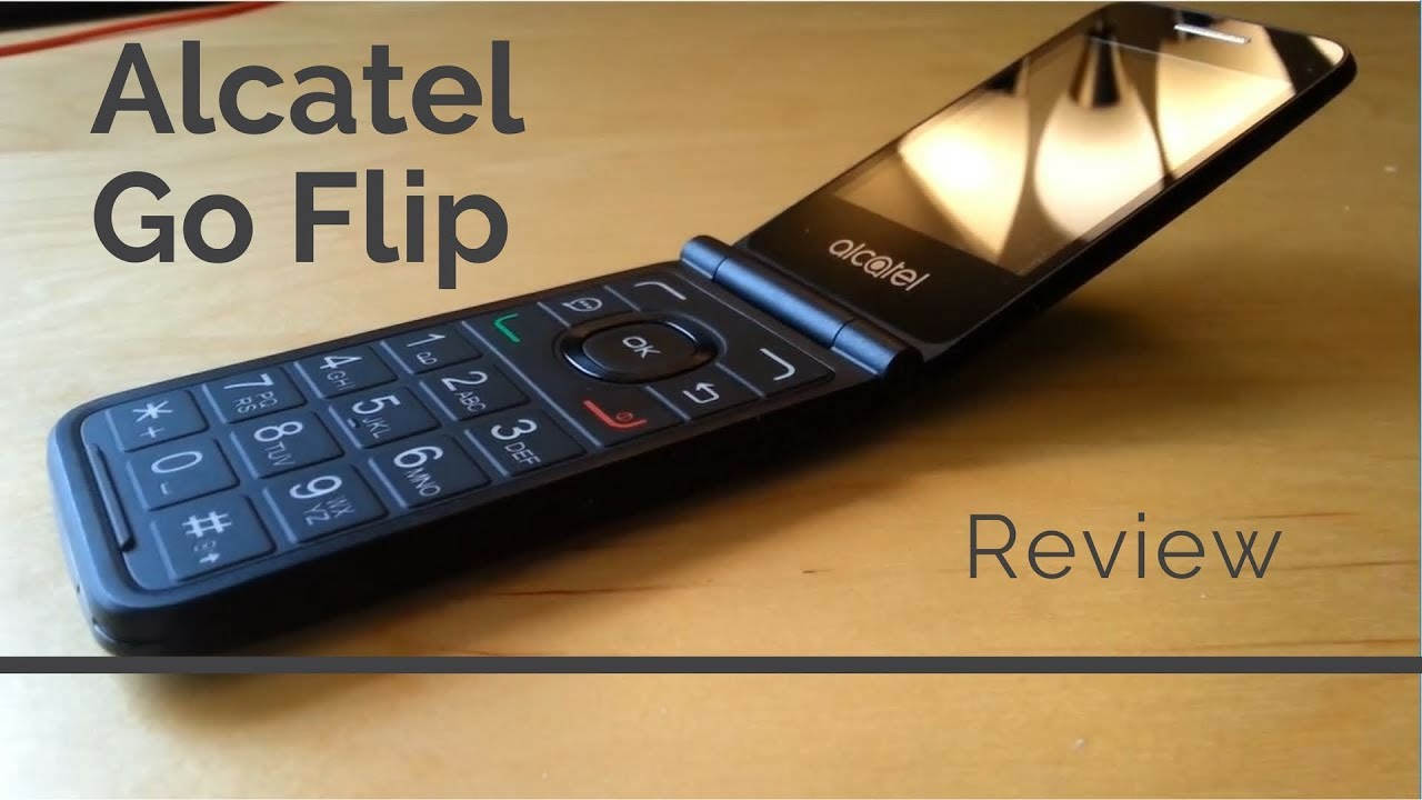 [Review] Alcatel Go Flip - A 4G Flip Phone in 2019 !