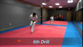 PKTS. Power Karate Training System Part 2 & 3 by Sensei Alfredo Mayorca.