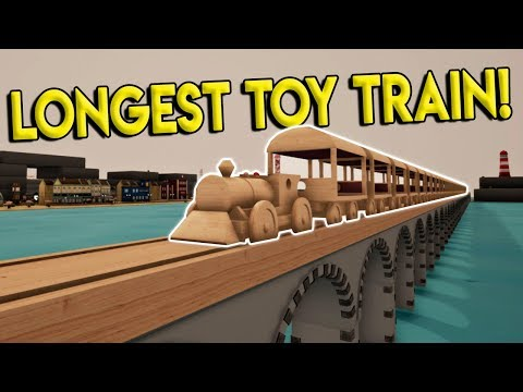 LONGEST TOY TRAIN EVER U0026 NEW BEACH TOWN! - Tracks- The Train Set Game Gameplay - Toy Train