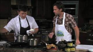 Chef Jason Mcconnell 's Catfish And Cheese Grits Part 2