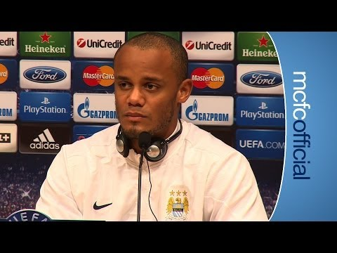 KOMPANY CALLS FOR BELIEF | Barcelona v City | Vincent Kompany press conference