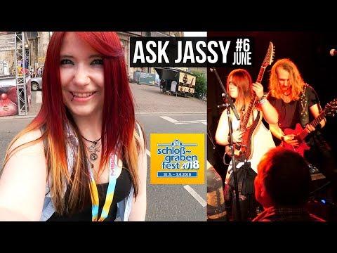 MY FAVORITE BAND? MY NATURAL HAIR COLOR? - Ask Jassy #6 | Jassy J