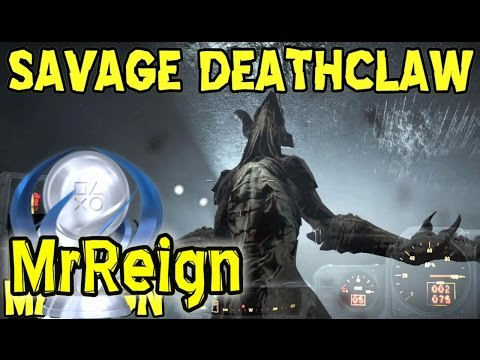 Fallout 4 - Savage Deathclaw - First Encounter