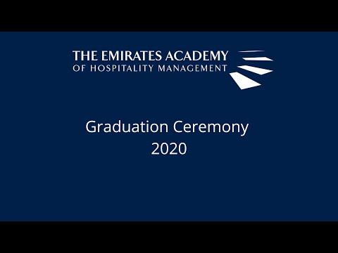 EAHM Virtual Graduation Ceremony 2020