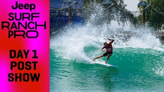 Kelly Slater Makes A Statement, Filipe Toledo Sets The Pace On Opening Day Of Jeep Surf Ranch Pro