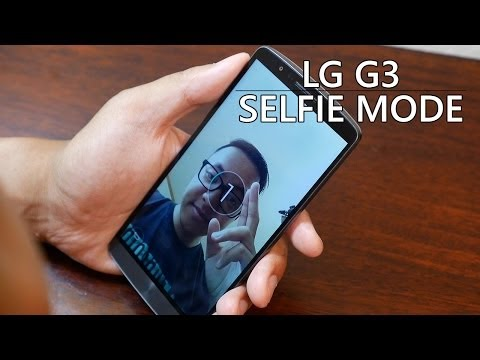 LG G3: Front Facing Camera