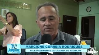 Tica  Moura é empossada presidenta da Câmara de vereadores de Palhano 02 01 2015