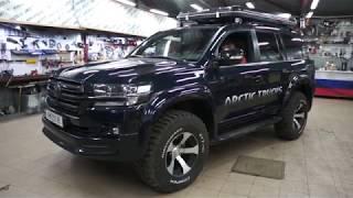 Land Cruiser 200 Arctic Trucks - модернизируем свет.