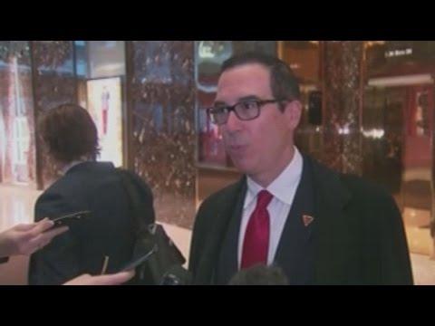 Who is U.S. Treasury Secretary nominee Steven Mnuchin?