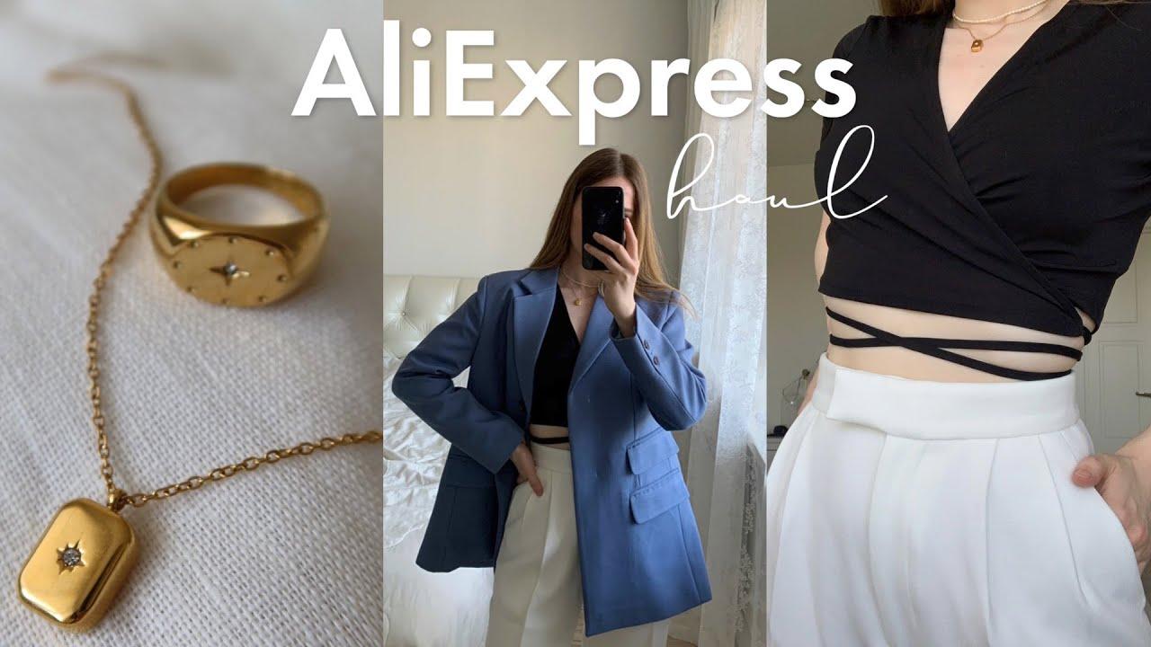 ALIEXPRESS HAUL | лучшие покупки | распаковка с примеркой