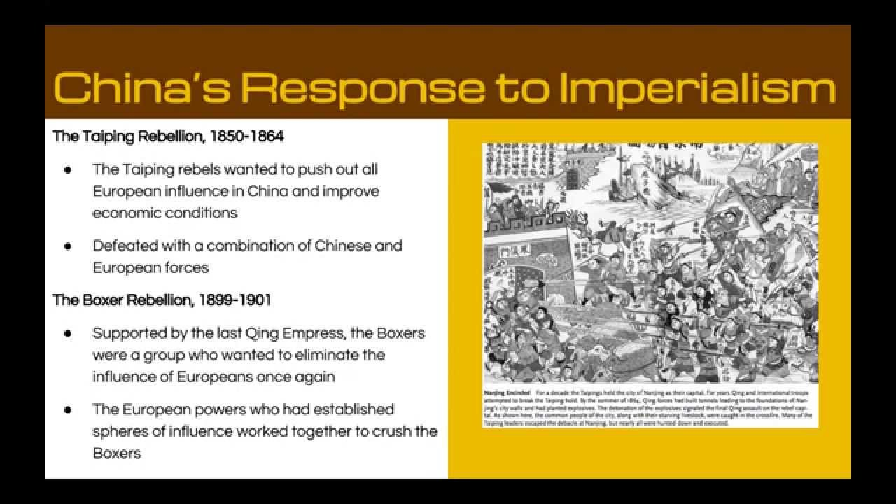 imperialism in china and japan essays