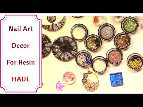HAUL Nail Art Ornaments For Jewelry Making With UV Resin