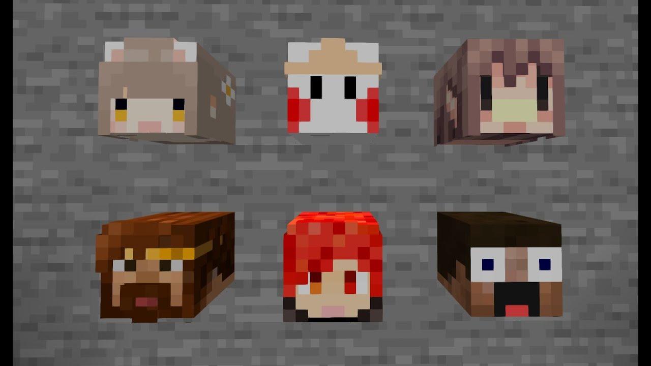 【minecraft】在麥塊中獲得玩家頭顱的方法!一行指令就能獲得實況主的頭顱~ - YouTube