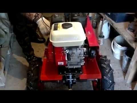 Заводим новый мотоблок Ока двигатель Lifan  t воздуха  -26