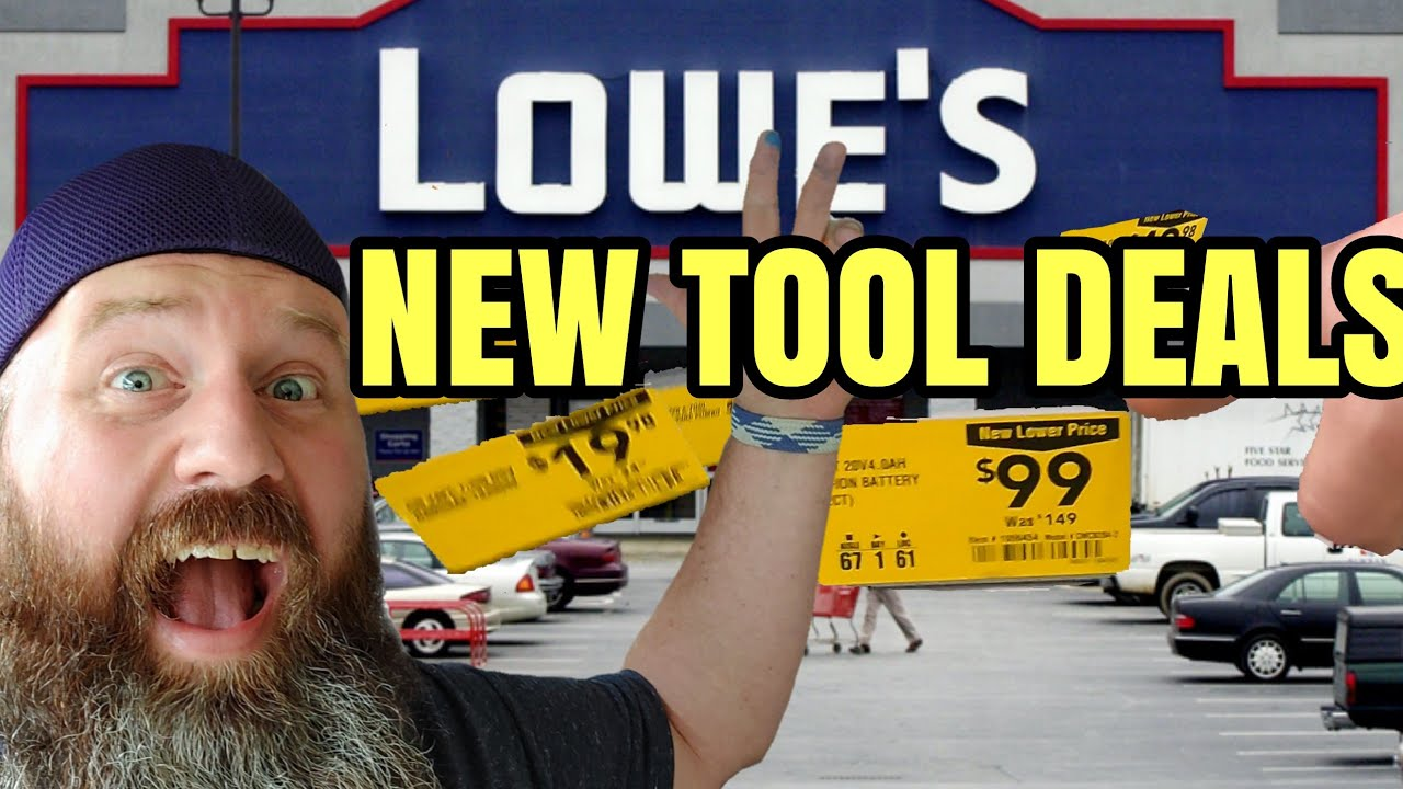 Top 20 New Tool Deals Lowes Clearance AUG 2021