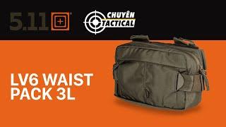 Trên Tay Túi Đeo 5.11 Tactical LV6 - Chuyentactical.com
