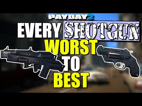 Every SHOTGUN ranked