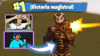 FUE INCREIBLE! Luzu y FernanFloo en Fortnite Battle Royale