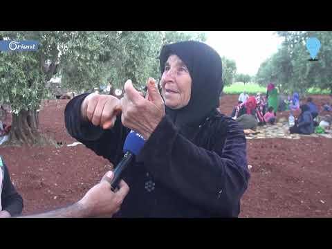 مسنة من ريف حماة تصف حال النازحين