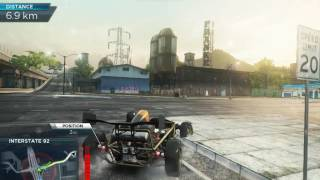 Bugatti vs Ariel in Need For Speed Most Wanted 2012