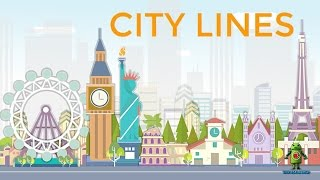 City Lines for puzzle lovers (iOS/Android) Gameplay HD