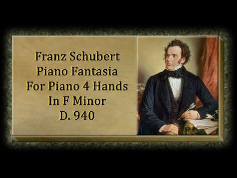 Schubert - Fantasia For Piano 4 Hands In F Minor D. 940