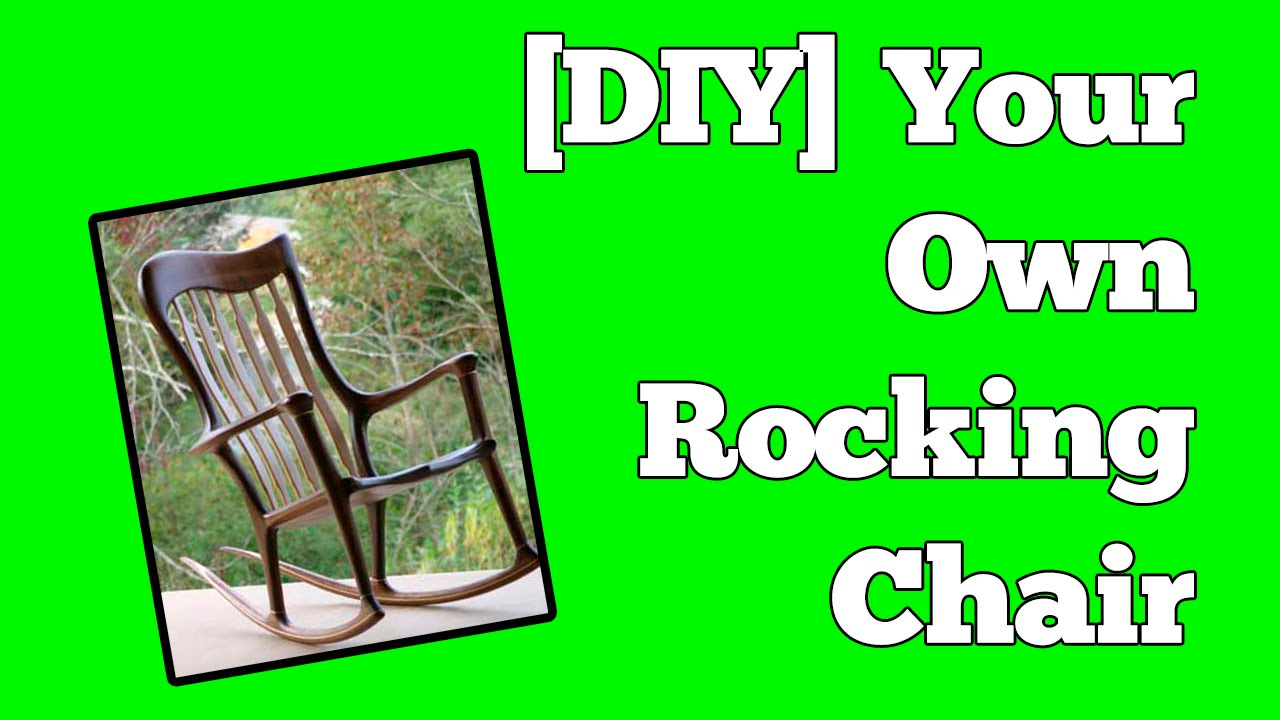 How To Build A Rocking Chair Perfect Chairs Made Easy