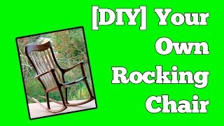 How to build a rocking chair :: Perfect chairs made easy