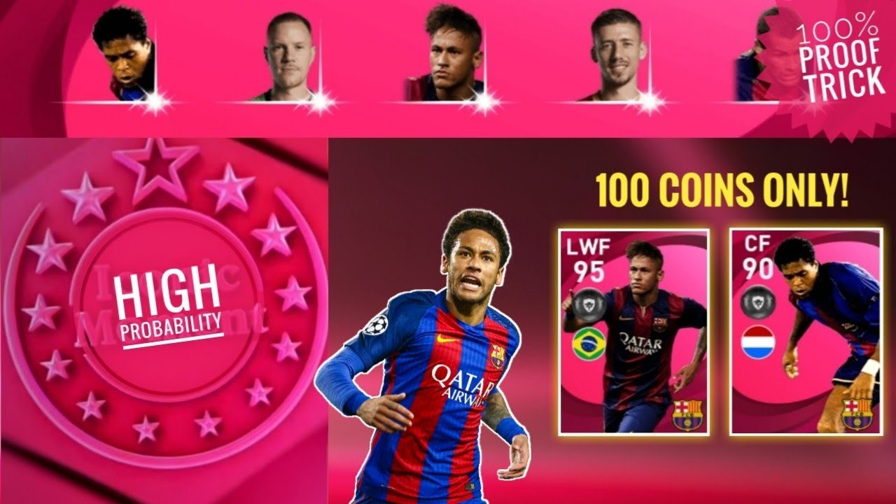 Neymar Jr + P. Kluivert trick in Iconic moment Fc Barcelona || Pes 2021 Mobile