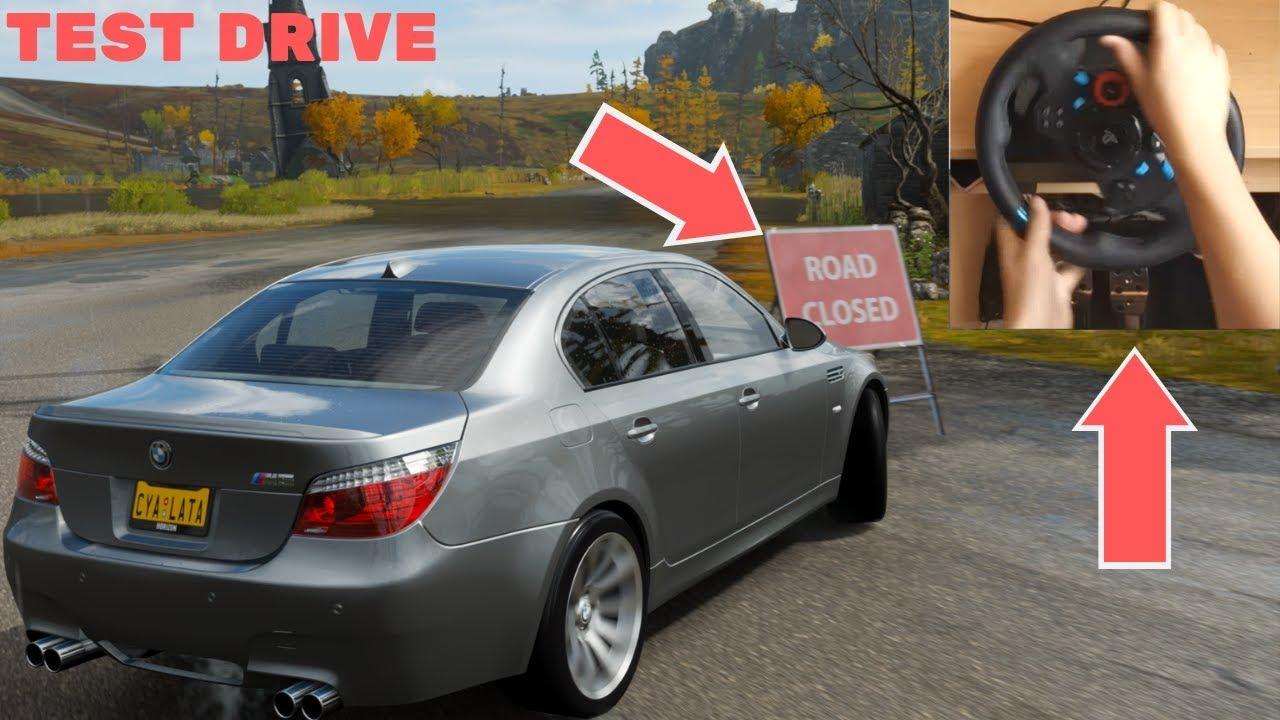 Forza Horizon 4 BMW M5 E60 (Logitech G29 Steering Wheel) Gameplay