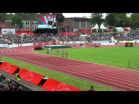 Deutsche Leichtathletikmeisterschaften 2012 3x1000m Jugendstaffel Finale