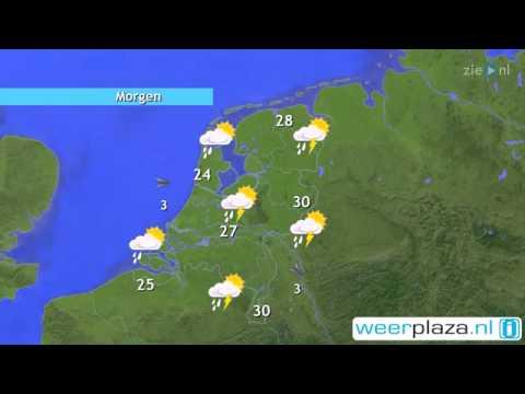 Het weer van Vandaag !! - YouTube