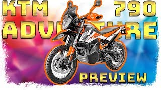 KTM 790 Adventure in-depth PREVIEW .... how is this PRICE possible?