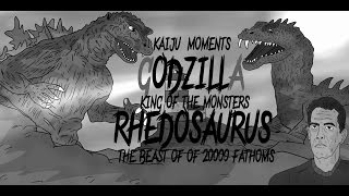 GODZILLA VS RHEDOSAURUS  KAIJU MOMENTS # 23