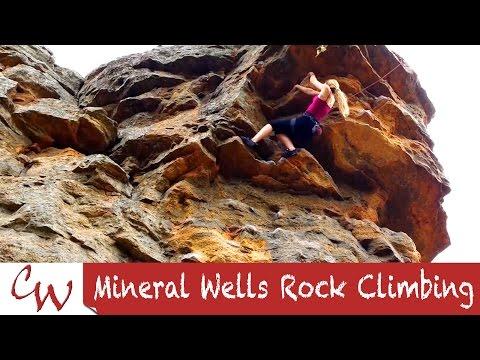 Mineral Wells Rock Climbing