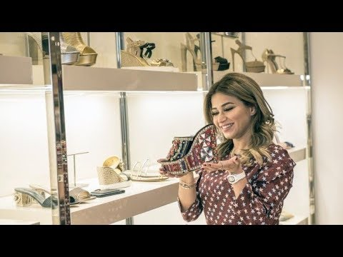 Noha Nabil goes shopping at Galeries Lafayette | DSS 2017 - Visit Dubai