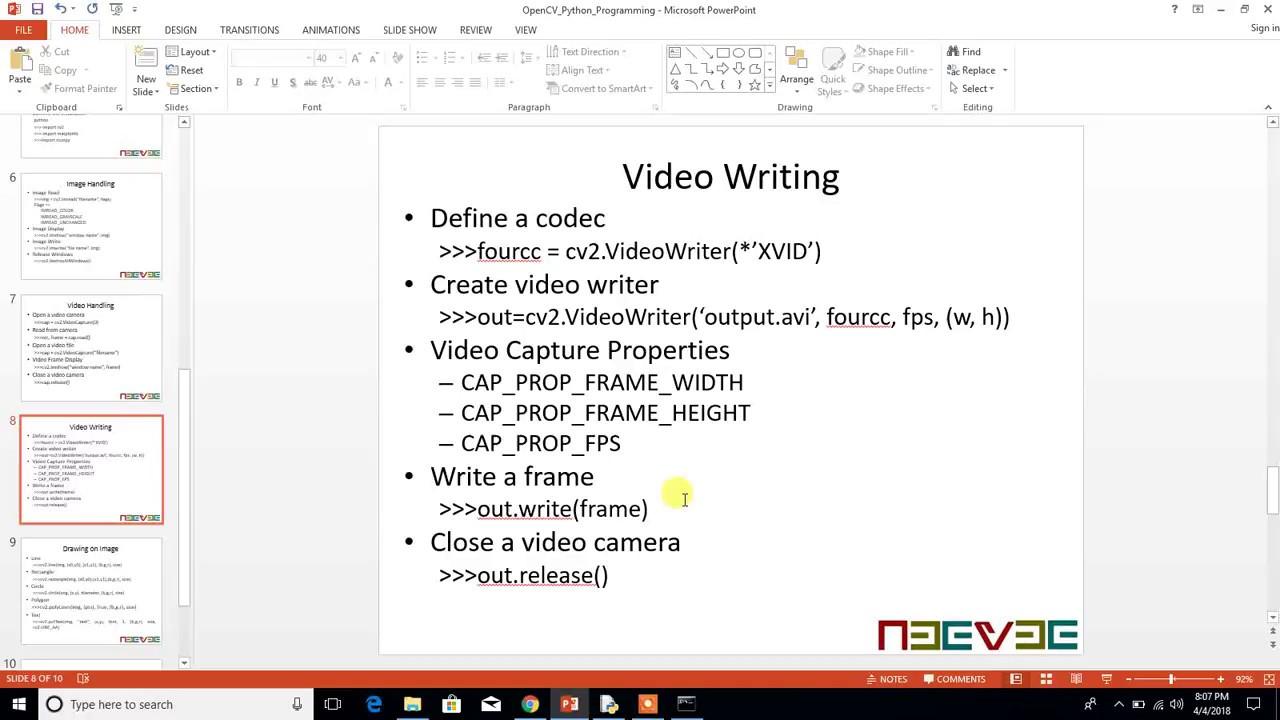 Opencv 4 Videowriter