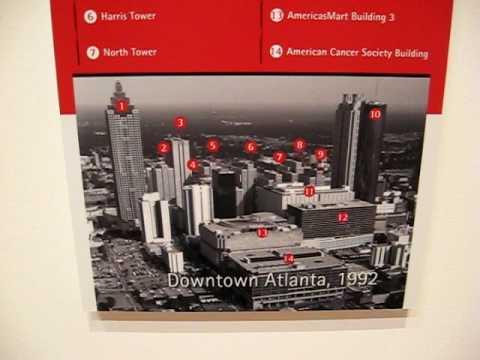 Portman Buildings Transform Atlanta Skyline