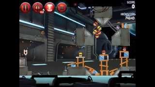 Angry Birds Star Wars II Naboo Invasion P1-S1 3 star walkthrough