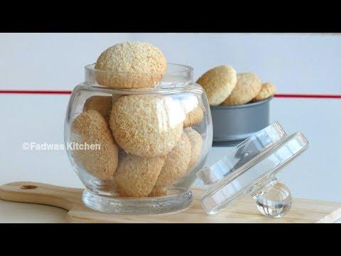 ♨Simple Coconut Cookies - Pressure Cooker  || തേങ്ങാ ബിസ്ക്കറ്റ്  || Bakery Style ||Recipe : 95