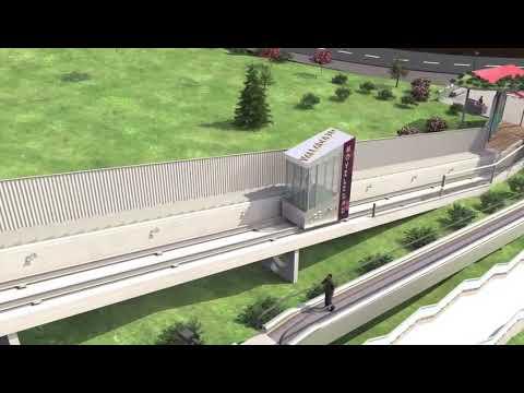 Vídeo del proyecto de elevadores mecánicos en la zona norte de Parquesol