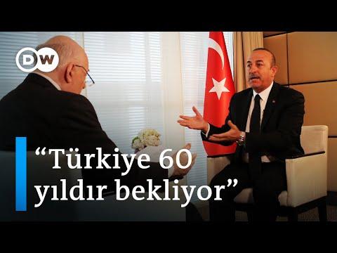 Mevlüt Çavuşoğlu Conflict Zone'da - DW Türkçe