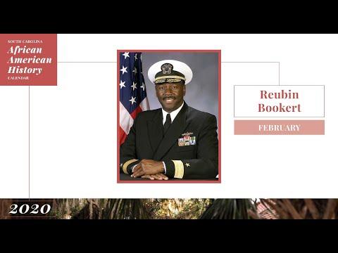 Rear Admiral Reubin Bookert   SC African American History Calendar