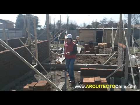Construir una casa con alba ileria de ladrillos youtube for Construccion de piscinas con ladrillos