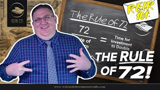 REIR 101: THE RULE OF 72! (REAL ESTATE INVESTMENT)