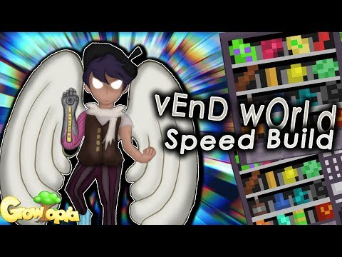 Growtopia - Vend World Speed Build Easy Profit!