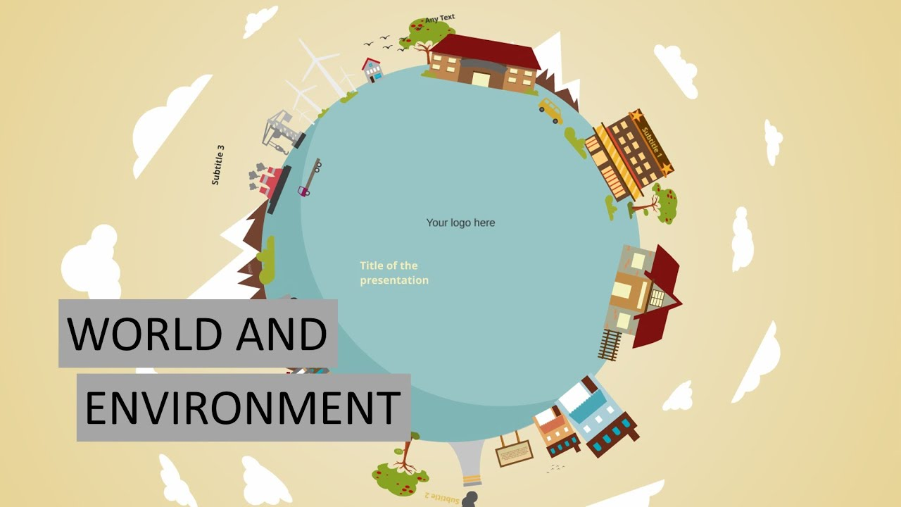 Prezi presentation templates world and environment - YouTube