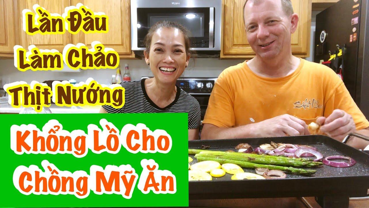 Vlog 413 ♻️ Lần Đầu Làm Chảo Thịt Nướng Khổng Lồ Tại Nhà Cho Chồng Mỹ Ăn.