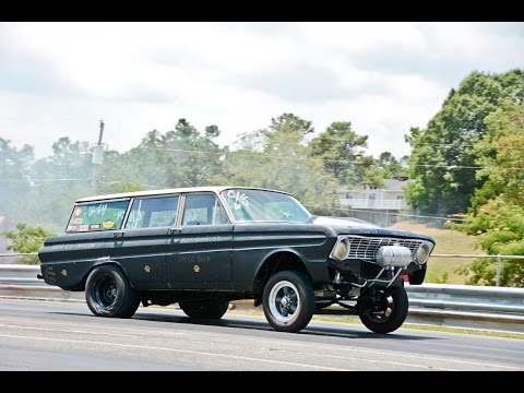 Jimmy Huff's 1964 Ford Falcon Wagon Gasser